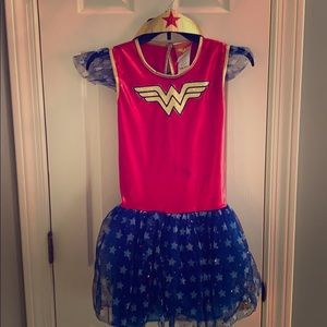 Wonder Woman custom for girls ages 6/7 (large)